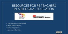 IN30 Final Project Resources for PE teachers in a bilingual education