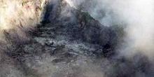 Cráter de geiser activo, Nueva Zelanda
