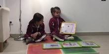 INFANTIL - 5AÑOSA - CUENTO LA PRINCESA EN PERSONA - INÉS Y MARTA- ANIMACIÓN A LA LECTURA