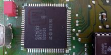 Calculador de inyección. Detalle del microcontrolador