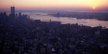 Puesta de sol, Nueva York, Estados Unidos
