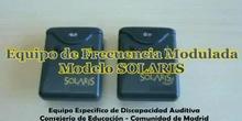 Presentación Equipo Individual FM modelo Solaris de Oticon