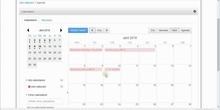 Curso web personal: Resumen de los eventos del calendario