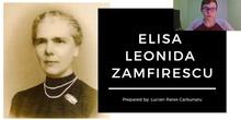 Invisible Women in History: Elisa Leonida Zamfirescu