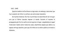 Artículo sobre Eva Braun