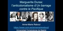 Marguerite Duras: l'anticolonialisme d'Un barrage contre le Pacifique - Partie 1