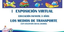 I EXPOSICIÓN VIRTUAL MEDIOS DE TRANSPORTE