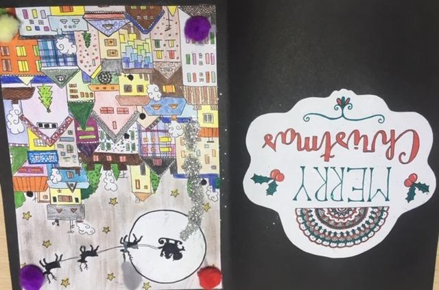 Tarjetas navideñas 2018 14