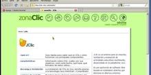 Incorporar un contenido Jclic a través de la opción de código embebido.