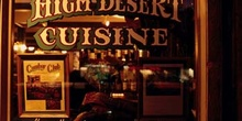Escaparate de un restaurante, Sedona, Estados Unidos