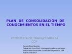 PLAN DE CONSOLIDACIÓN DE CONOCIMIENTOS