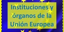 Órganos e instituciones de la Unión Europea