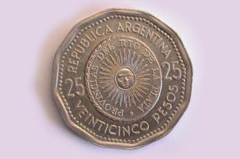 Peso Argentino, Cara
