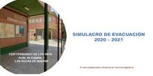 2020-2021 SIMULACRO DE EVACUACIÓN_PROTOCOLO COVID_CEIP FDLR_Las Rozas