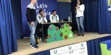 Jugadores del CD Leganés visitan el cole 7