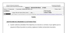 Ficha de Condición Física 3 para 2º ESO