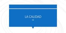 Calidad (II)