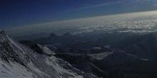 Sierras nevadas vistas desde el Balcón del Everest