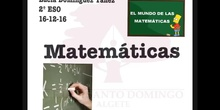 SECUNDARIA 2º - REGLA DE TRES - MATEMÁTICAS