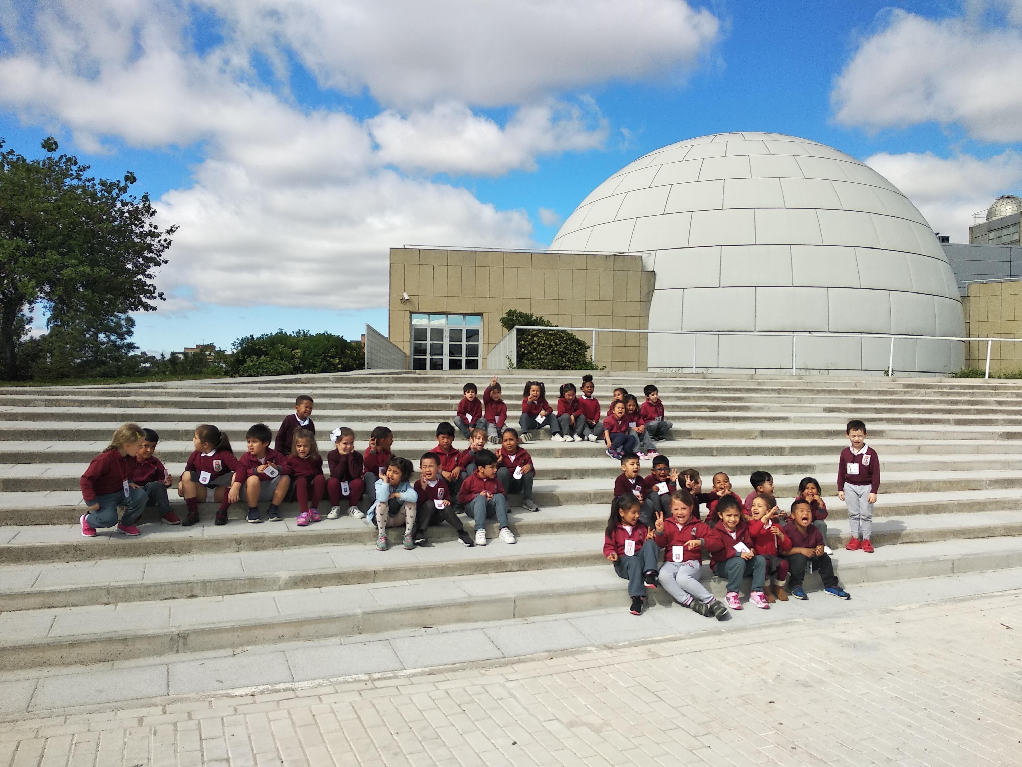 Visita al Planetario (Ed. infantil)  2