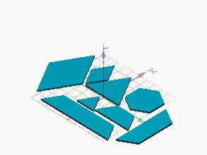 Tangram de 8 elementos