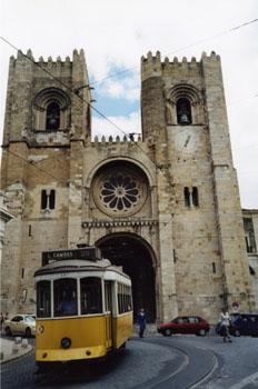Catedral, Lisboa, Portugal