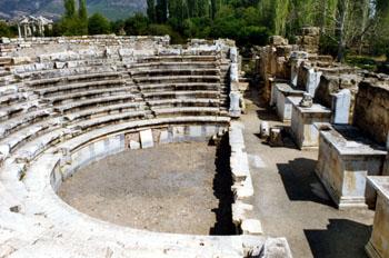 Odeón, Afrodisias, Turquía