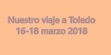 Viaje a Toledo de alumnos de 2º ESO del I.E.S. Humanejos