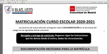 Tutorial Matriculación Blas de Lezo 2020
