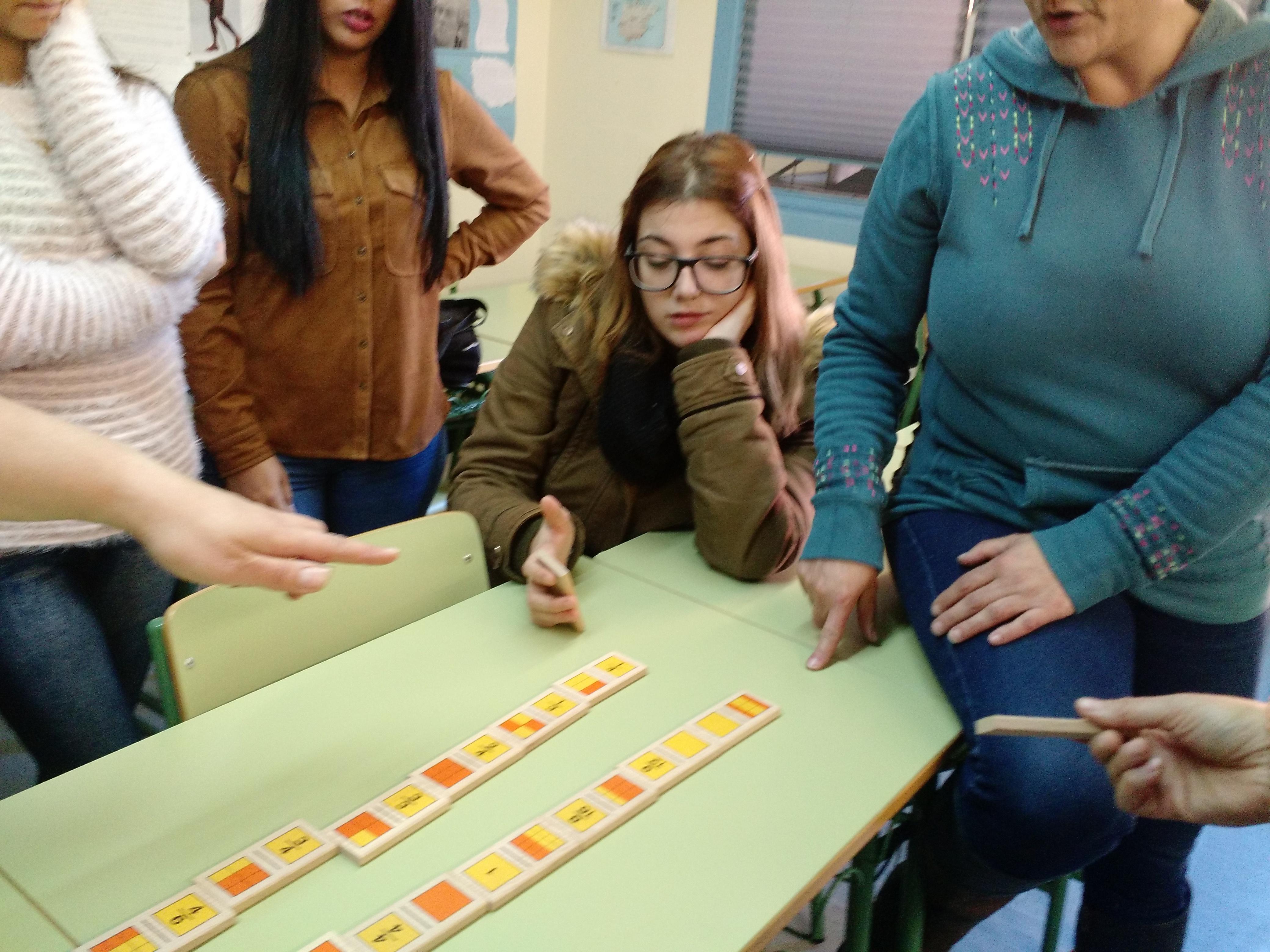 Jugando al dominó (fracciones) 9