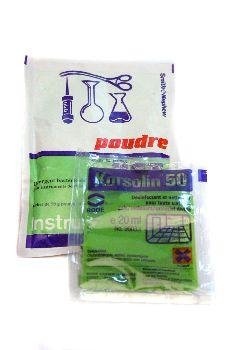 Desinfectantes para útiles