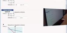 Talento Matemático Profesor Arias Cabezas: Sistemas lineales 2 x 2