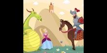 La leyenda de Jorge, el dragón y la princesa