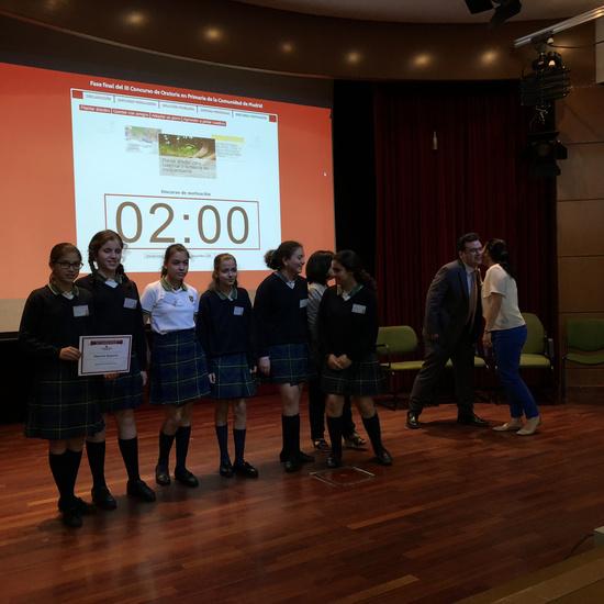 Fase final del III Concurso de Oratoria en Primaria de la Comunidad de Madrid 9