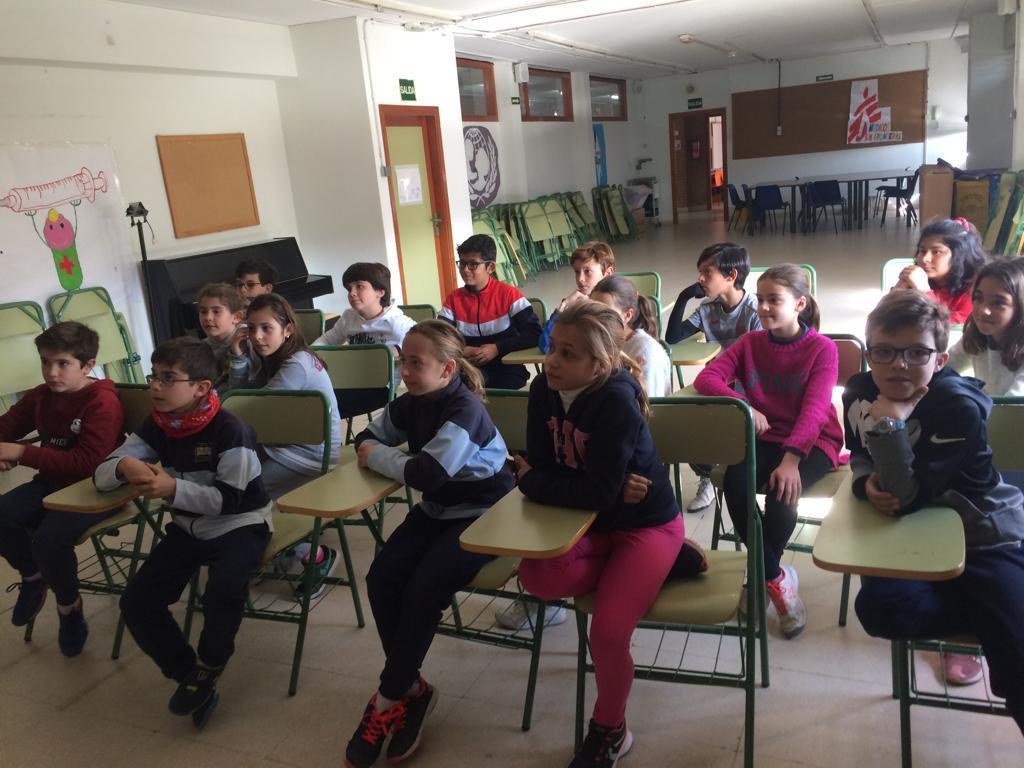 2019_02_19_Entrega cheque Mercadillo Solidario 2019_CEIP FDLR_Las Rozas 6