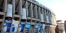Estadio Santiago Bernabéu, Paseo de la Castellana, Madrid