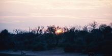 Amanecer en el Parque Nacional de Chobe, Botswana