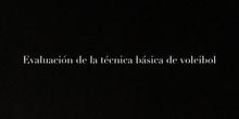 SECUNDARIA - 3º ESO - EDUCACIÓN FÍSICA - TÉCNICA DE VOLEIBOL - ACTIVIDAD