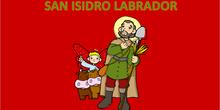 Historia de San Isidro en pictogramas
