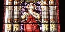 Vidriera dedicada a Jesús - Trujillo, Cáceres