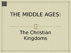 THE MIDDLE AGES by PAULA IÑIGO