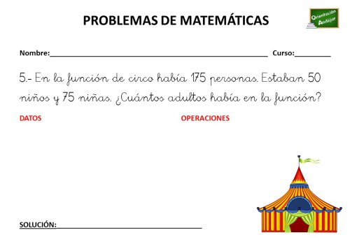 PROBLEMA MATEMÁTICO 27 DE ABRIL