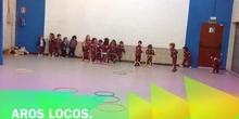 Infantil_ 3 y 4 años_ juego con aros_Psicomotricidad