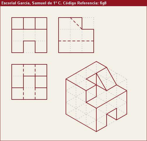 Vistas Diédricas Fig8