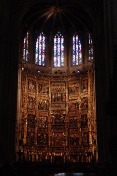 Altar Mayor de la Catedral de Oviedo, Principado de Asturias