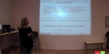 Herminia Gil Pérez, Consejería de Educación y Juventud, Protección de datos