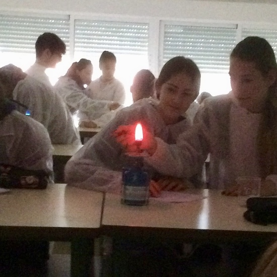Fotos de Ampliación de Física y Química 5