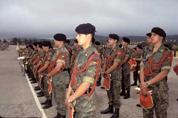 Miembros del ejército