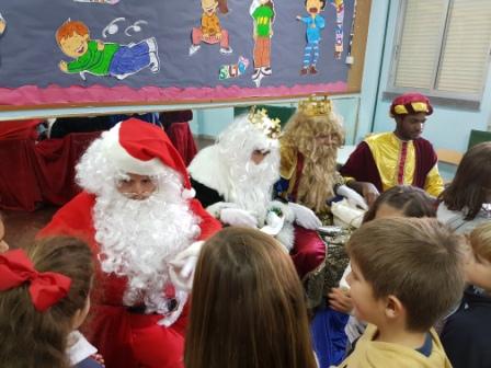 Los RRMM  Papá Noel en 1º (1) 1
