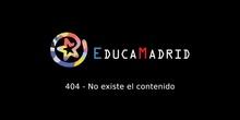 Los niños de 5º curso hacen punto